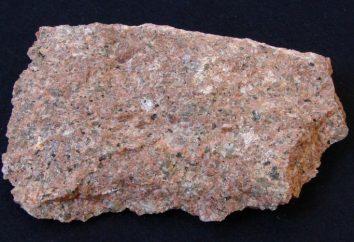 – granito minerales. La extracción de granito. Métodos de extracción de granito