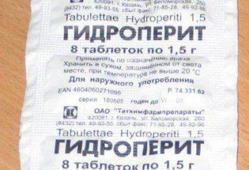 """""""Gidroperit"""": istruzioni per l'uso per schiarire i capelli, foto"""