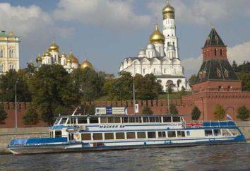 Une croisière de week-end sur un bateau à moteur de Moscou. Voyage en bateau