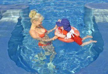 Inflable círculo swimtrainer: descripción, tipos, fabricante y propietario críticas