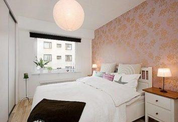 Elegantes Design: Kombinierte Tapeten für Schlafzimmer