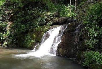 wodospady Kravtsovskoye. Atrakcje w Kraju Nadmorskim
