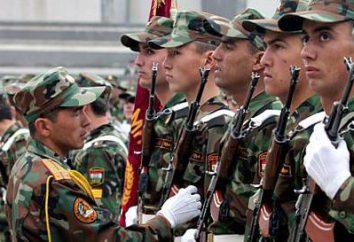 Army of Tajikistan: la vita, l'età della leva obbligatoria, il numero di