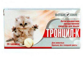 """""""Trontsil-K"""" dla kotów: Sposób użycia, dawkowania, przeciwwskazań, opinie"""