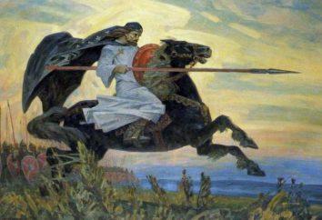 Alexander Peresvet. Héroes de la batalla de Kulikov