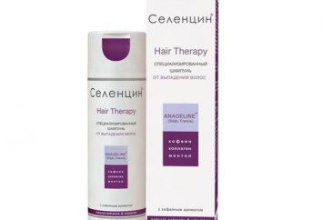 """""""Selentsin"""" (szampon). Trichologists opinii o szampon """"Selentsin"""" wypadanie włosów"""