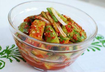 Cetrioli in coreano – è molto gustoso