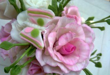 Zimna porcelana ręcznie. Tworzenie Beauty