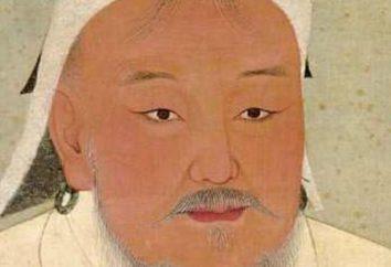 A conquista de Genghis Khan. Anos de sua vida e reinado de Genghis Khan. A marcha de Genghis Khan para a Rússia