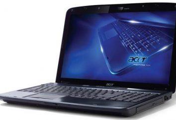 Acer Aspire 5536: visión general de las características técnicas de la computadora portátil
