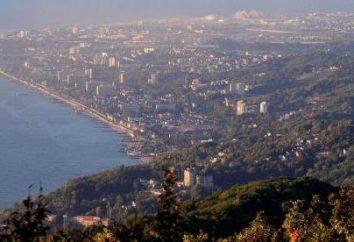 Wieża widokowa Akhun w Soczi: opis, historia i ciekawostki