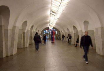 Onde metrô Shabolovskaya em Moscou?