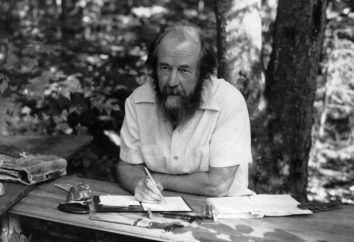 Alexander Solzhenitsyn: il prodotto, una breve descrizione