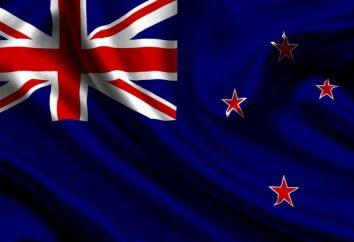 Brasão, hino e bandeira de Nova Zelândia