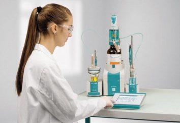 Metodi per l'analisi titolazione. tipi di titolazione. chimica analitica