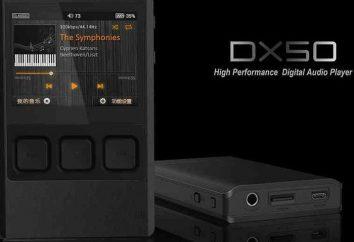 IBasso DX50: uma visão geral, recursos e comentários