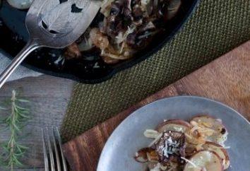 Batatas fritadas com cogumelos – o que poderia ser melhor!