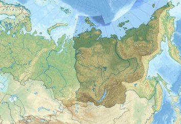 Siberia Orientale: minerali e sollievo