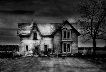 Nos pontos de giro da história: casas abandonadas