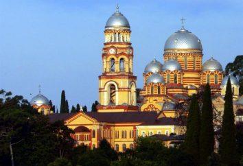 Antigua Abjasia. Nuevo Athos (monasterio) – la herencia mundial del cristianismo