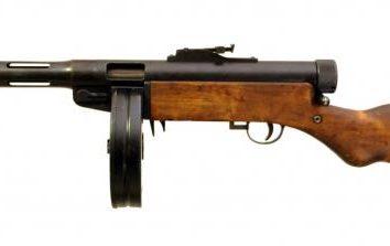 """Maschinenpistole """"Suomi"""" (Suomi). Finnische Maschinenpistolen"""