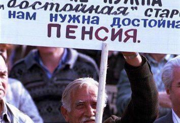 Pensions en augmentation Belarus, espèces, la taille,