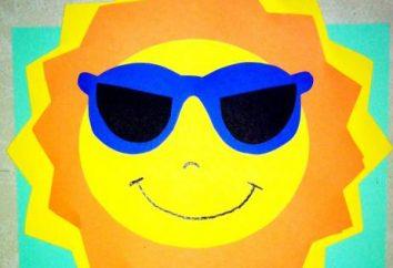 bidouille belle et lumineuse « Sunshine ». Avec ses mains pour lui apprendre à jouer dans différents matériaux