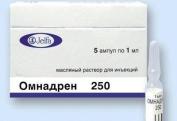 """La droga """"Omnadren"""": retroalimentación sobre los resultados de su uso"""