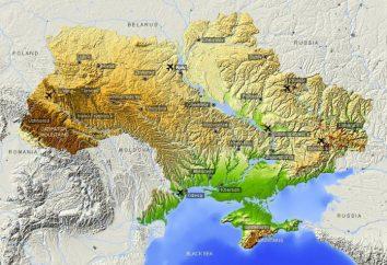 El área de Ucrania. Ucrania – el territorio de la zona