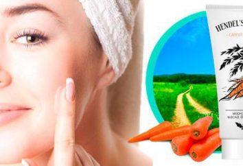 Karotte Maske für Akne: Bewertungen und Effizienz