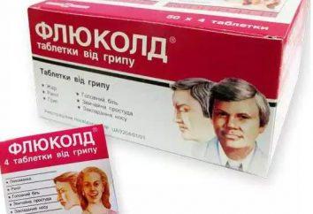 """Tablets """"Flyukold"""": instruções de utilização, comentários. A droga """"Flyukold N"""""""
