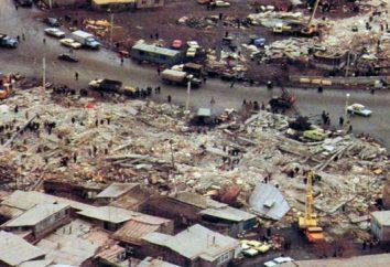 Le tremblement de terre de Spitak en 1988