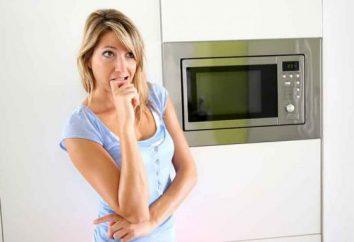Dano ao forno de microondas para a saúde humana: um mito ou realidade?