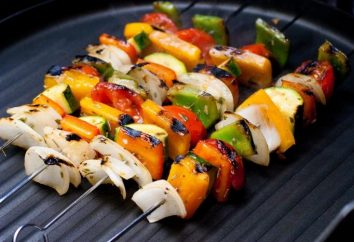 Recette: légumes grillés. Deux options de cuisson