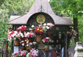 Onde o túmulo de Matrona de Moscou?