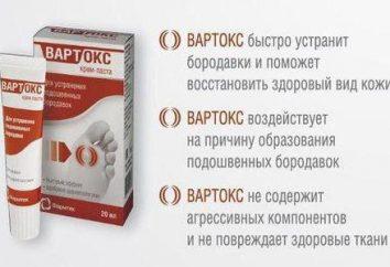 """""""Vartoks"""" – una crema pegar para eliminar las verrugas. """"Vartoks"""": instrucciones de uso, bienes"""