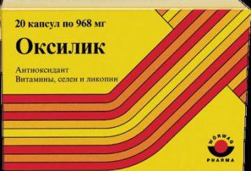 """Il farmaco """"Oksilik"""". Istruzioni e recensioni"""