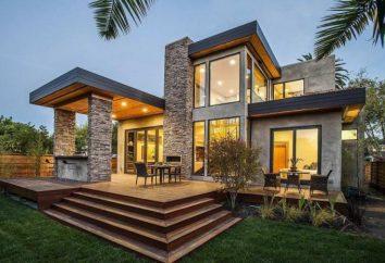 Design von Häusern außerhalb – Gestaltungsmöglichkeiten für Fassaden