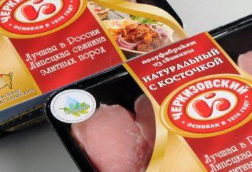 przedsiębiorstw przetwórstwa mięsnego, zakładów przetwórstwa mięsnego rosyjski: ocena, produkty