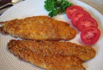 Très savoureux et utile carpe frite