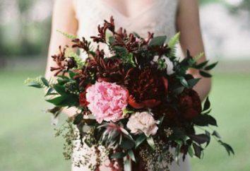 Hochzeit Farbe marsala: modern, stilvoll und geschmackvoll