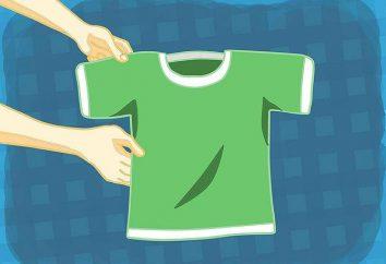 La rapidez con la camisa plegada: tres maneras y una extremidad de la prima
