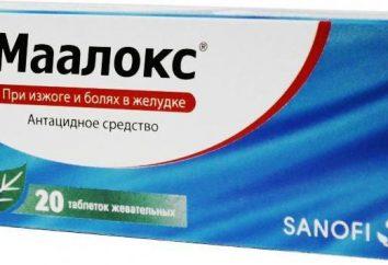 Antiacides-médicaments. Liste et application des moyens populaires