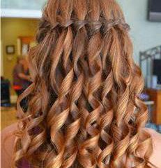 Cascada: trenzar el pelo, consejos prácticos