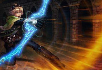 "Spiel League of Legends: Hyde ""Ezreal"". Hyde Held Ezreal (Ezreal): Beschreibung, Merkmale der Passage und Bewertungen"