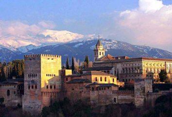 I luoghi più brillanti e antiche di Granada
