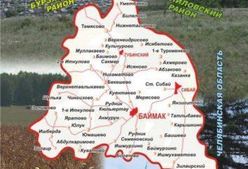Bajmakskij Rajon (Repubblica del Bashkortostan): il territorio, la popolazione