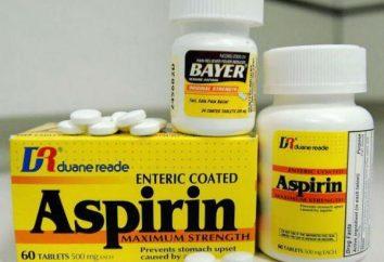 Aspiryna na ból głowy: jak zrobić?