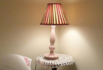 Paralumi per la lampada con le mani. Come fare un paralume per una lampada