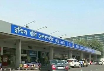 el aeropuerto de Delhi – un único terminal de la capital de la India